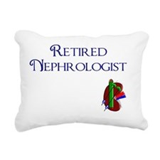 Retired Nephrologist 3 Rectangular Canvas Pillow