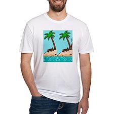 Chocolate Labrador Island Shirt