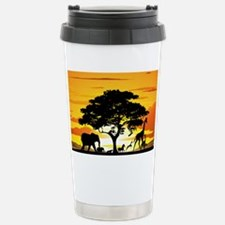 Wild Animals on African Travel Mug