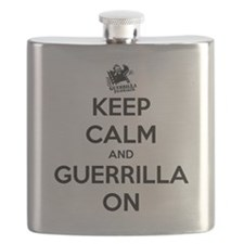 Keep Calm T-shirt Flask