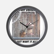 greedy Wall Clock