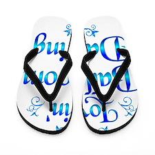 Lovin Ballroom Dancing Flip Flops