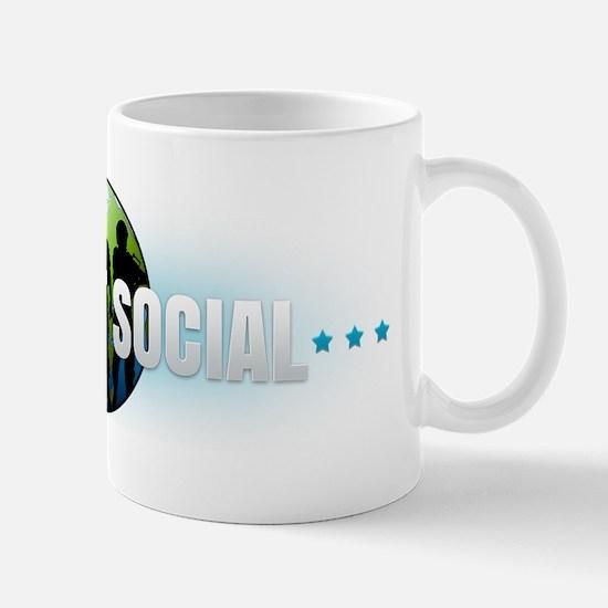 Airsoft Social Logo Stars Mug