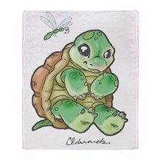 New Baby Turtle Throw Blanket