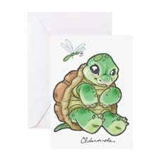 New Baby Turtle Greeting Card