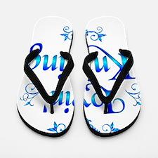 Lovin Knitting Flip Flops