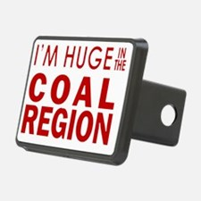 Im Huge in the Coal Region Hitch Cover