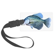 Crappie Luggage Tag