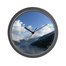 Love Norway Wall Clock