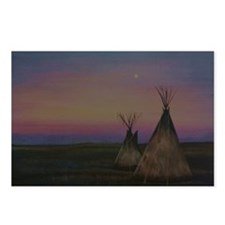 Tepees Postcards (Package of 8)