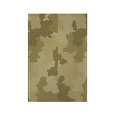 Light Camouflage Rectangle Magnet