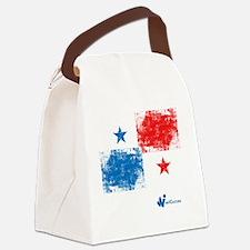 Panama Flag Canvas Lunch Bag