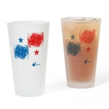 Panama Flag Drinking Glass