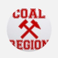 Coal Region X Round Ornament