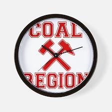 Coal Region X Wall Clock
