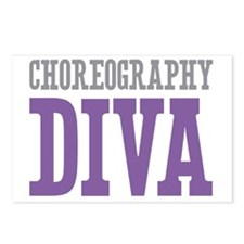 Choreography DIVA Postcards (Package of 8)