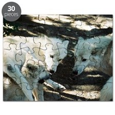 """Biting  His  Mother's  Leg"" Puzzle"