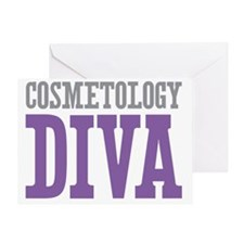 Cosmetology DIVA Greeting Card