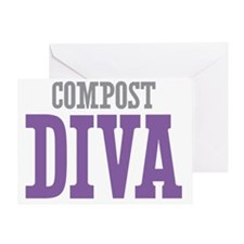 Compost DIVA Greeting Card