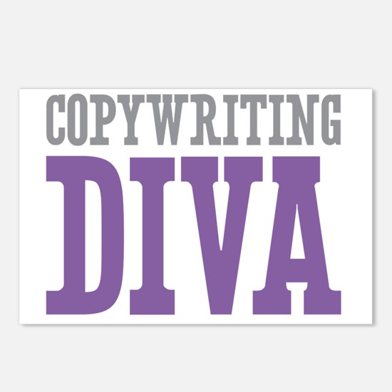 Copywriting DIVA Postcards (Package of 8)