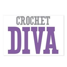 Crochet DIVA Postcards (Package of 8)