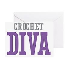 Crochet DIVA Greeting Card