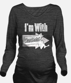 Im with Masshole Long Sleeve Maternity T-Shirt