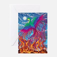 Phoenix 16x20 Greeting Card