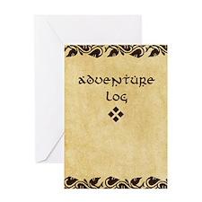 Adventure Log Greeting Card