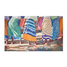Tracy L Teeter African Colors 3'x5' Area Rug