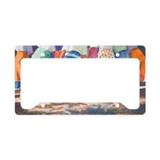 Tracy L Teeter African Colors License Plate Holder