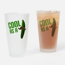 Cool as a Cucumber Drinking Glass