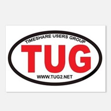 TUG Oval Logo Postcards (Package of 8)