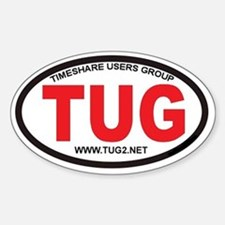 TUG Oval Logo Sticker (Oval)