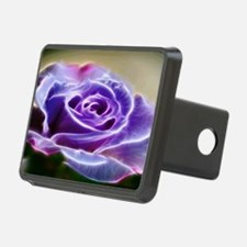 Puple Lighted Rose Hitch Cover