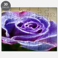 Puple Lighted Rose Puzzle