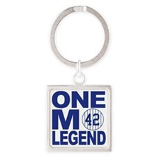One more legend Square Keychain