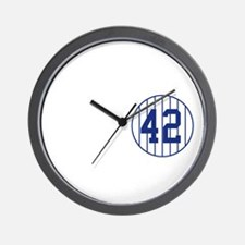 One Mo Legend Wall Clock
