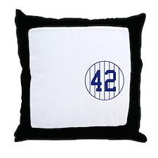 One Mo Legend Throw Pillow
