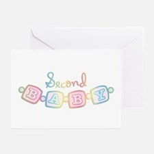 Baby Bracelet 2nd Baby Greeting Cards (Package of