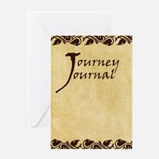 Journey Journal Greeting Card