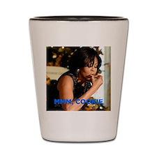 Michelle Obama Cookie Jar Shot Glass