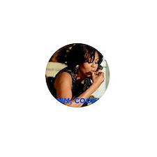 Michelle Obama Cookie Jar Mini Button