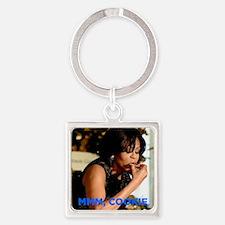 Michelle Obama Cookie Jar Square Keychain