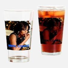 Michelle Obama Cookie Jar Drinking Glass