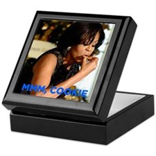 Michelle Obama Cookie Jar Keepsake Box