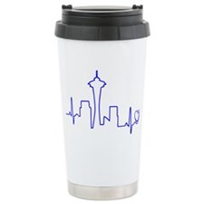 Seattle Heartbeat (Hear Travel Coffee Mug