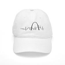 St. Louis Heartbeat Letters Baseball Cap