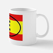 Spain E European Small Small Mug
