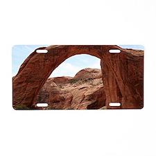 Rainbow Bridge Arch, Utah,  Aluminum License Plate